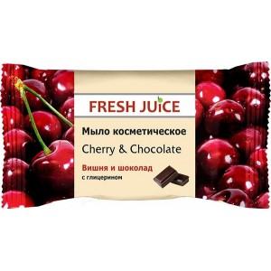 """FJ"" Мыло косметическое ""Cherry & Chocolate"" 75г"