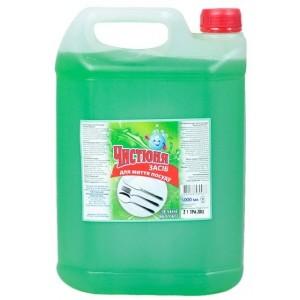 """""""Ч"""" Средство для мытья посуды Зеленое Яблоко 5л"""