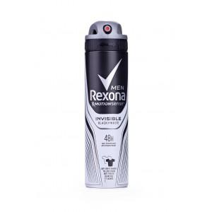 Антиперспирант Rexona спрей мужской Невидимый для чорного и белого, 150 мл