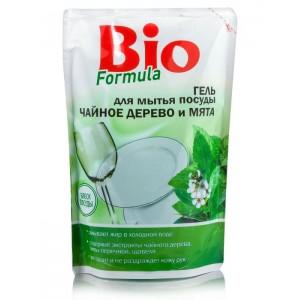 Гель для мытья посуды Bio Formula Чайное дерево и мята 500 мл