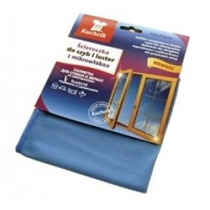Салфетка для стекла (микрофибра) 30*30 1шт