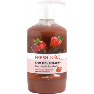 """FJ"" Крем-гель для душа ""Chocolate & Strawberry"" 750мл"