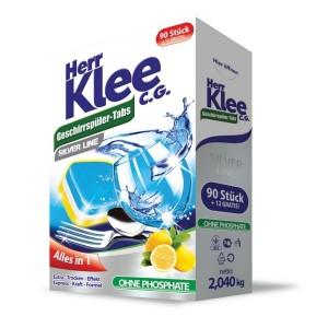 KLEE таблетки для посудомийних машин, 102 шт.