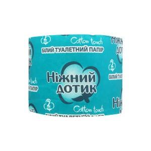 Ніжний дотик туалетний папір 2шари білий 1шт*16