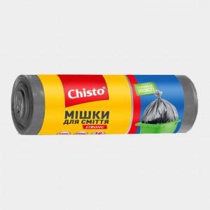 Мешки для мусора «Chisto», 160л х 10шт.