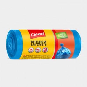 Мешки для мусора «Chisto», 20л х 30шт.