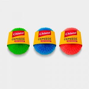 Скребок пластиковый сетчатый «Chisto», 1 шт.