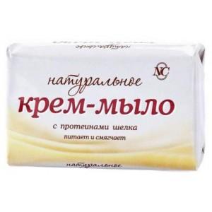 Крем-мыло Невская Косметика Натуральное с протеинами шелка 90 г