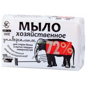 Мыло хозяйственное Невская косметика универсальное 72% 180 г
