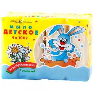 Детское мыло Невская Косметика с ромашкой 400 г