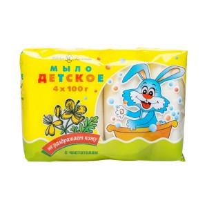 Детское мыло Невская Косметика с чистотелом 400 г
