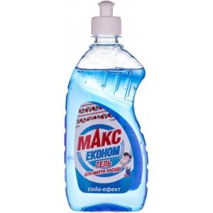 Гель для мытья посуды Макс Эконом Сода-эффект 450 мл (4820026413471)