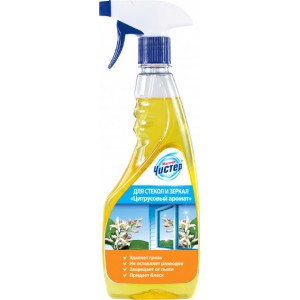 Средство для чистки стекла Мистер Чистер Цитрусовый аромат 500 мл (4820026413358)