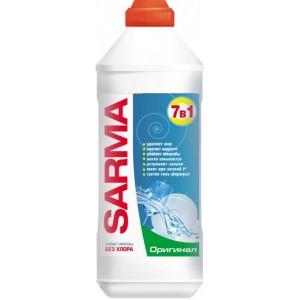 Гель для мытья посуды Sarma Оригинал антибактериальный 500 мл (4820026413198)